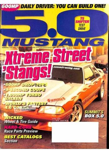 Cover Print of 5.0 Mustang, April 2000