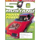 Cover Print of 5.0 Mustang Magazine, August 2001