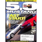 Cover Print of 5.0 Mustang Magazine, August 2002