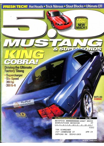 5.0 Mustang, July 2002