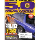 Cover Print of 5.0 Mustang, March 2001