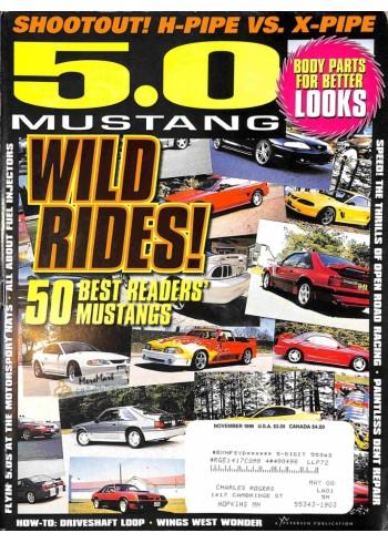 Cover Print of 5.0 Mustang, November 1999