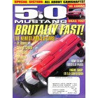 Cover Print of 5.0 Mustang, October 1999