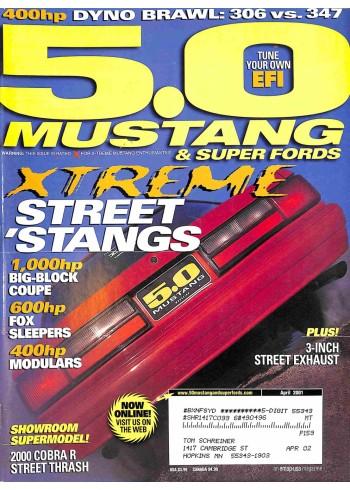 5.0 Mustang, April 2001