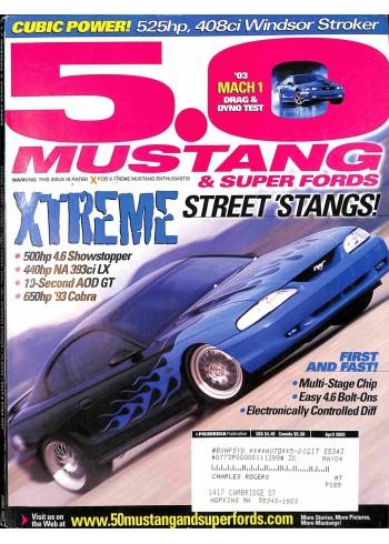 5.0 Mustang, April 2003