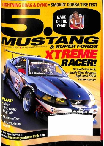 5.0 Mustang, December 2003