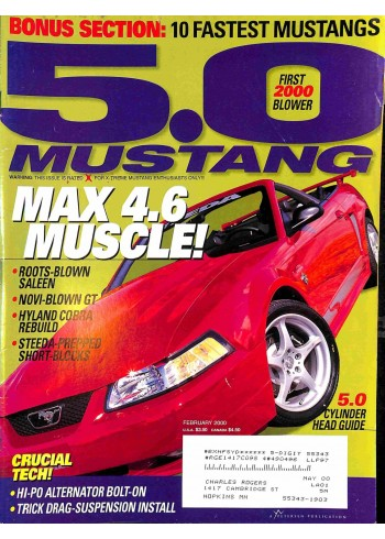 5.0 Mustang, February 2000