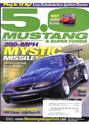 5.0 Mustang, July 2003