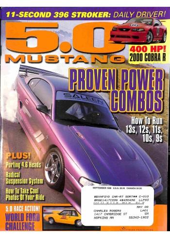 5.0 Mustang, September 1999