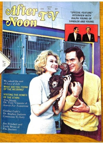 Cover Print of Afternoon TV, June 1971