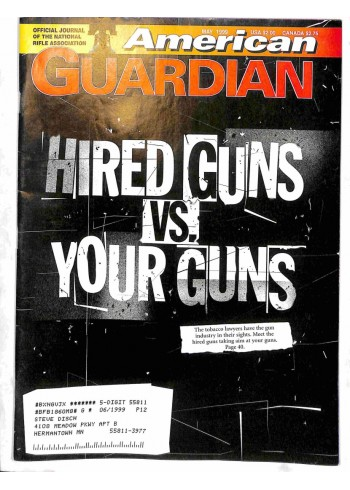 Cover Print of American Guardian, May 1999