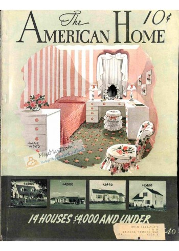 Cover Print of American Home, April 1940