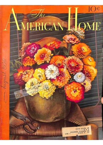 Cover Print of American Home, August 1936