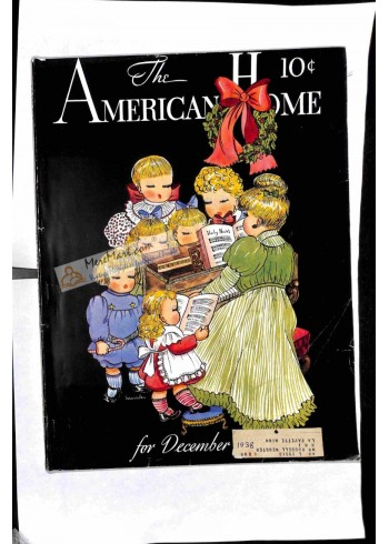 Cover Print of American Home, December 1938