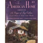 Cover Print of American Home, February 1938