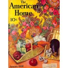 Cover Print of American Home, January 1938