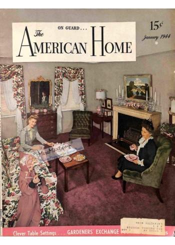 American Home, January 1944