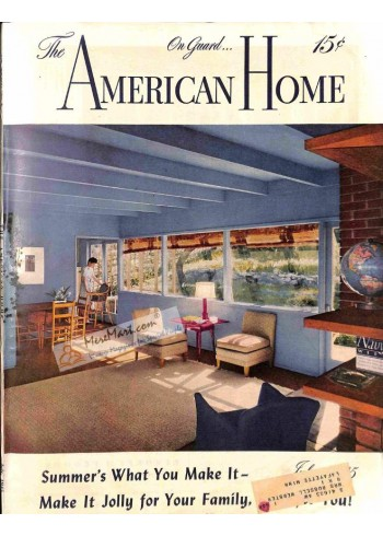 Cover Print of American Home, July 1945