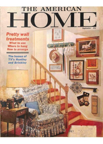 Cover Print of American Home, September 1964