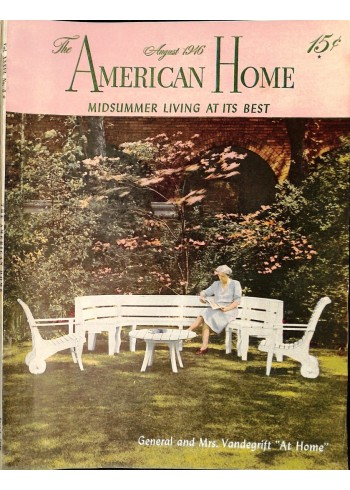 Cover Print of American Home, August 1946