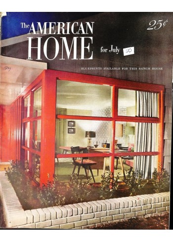 Cover Print of American Home, July 1950