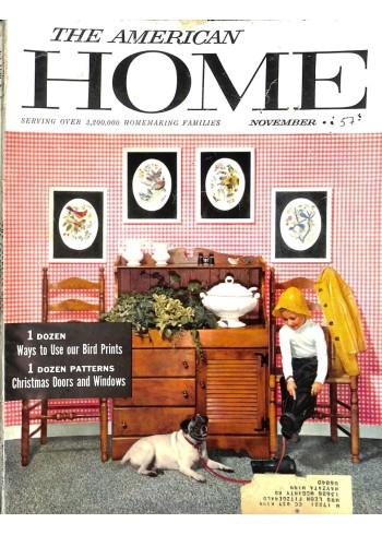 Cover Print of American Home, November 1957