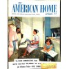 Cover Print of American Home, October 1955