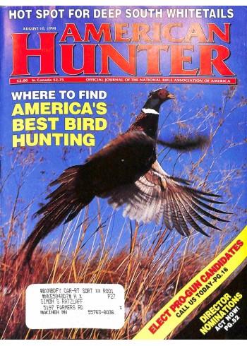 American Hunter, August 10 1994