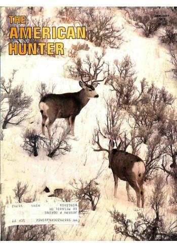 American Hunter, January 1977