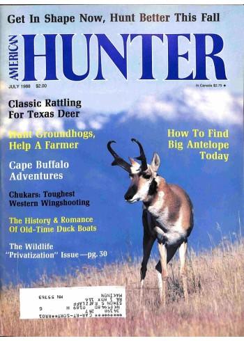 American Hunter, July 1988