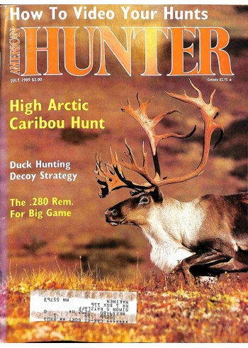 American Hunter, July 1989