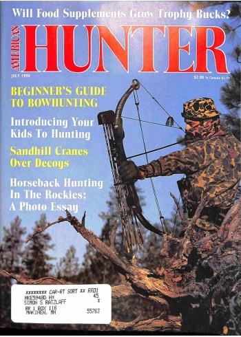 American Hunter, July 1990