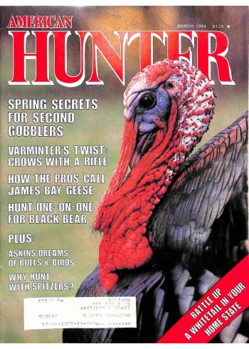 Cover Print of American Hunter, March 1984