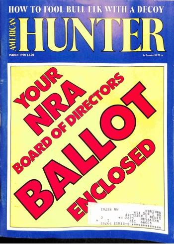 American Hunter, March 1990