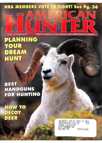 Cover Print of American Hunter, May 1994