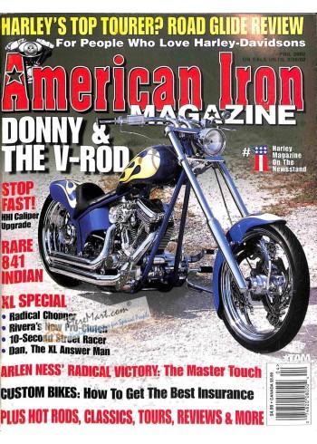 American Iron, April 2002
