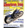Cover Print of American Iron, April 2003