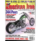 Cover Print of American Iron, April 2004
