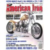 Cover Print of American Iron, April 2005