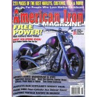 Cover Print of American Iron, August 2002