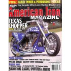 Cover Print of American Iron, August 2003