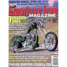 Cover Print of American Iron, August 2005