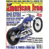 Cover Print of American Iron, December 2004