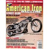 Cover Print of American Iron, December 2005