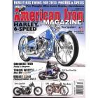 Cover Print of American Iron Magazine, December 2012