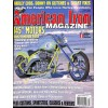 Cover Print of American Iron, July 2003