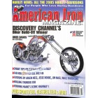 Cover Print of American Iron, October 2004