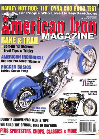 American Iron, February 2007