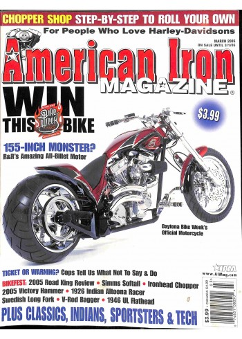 American Iron, March 2005