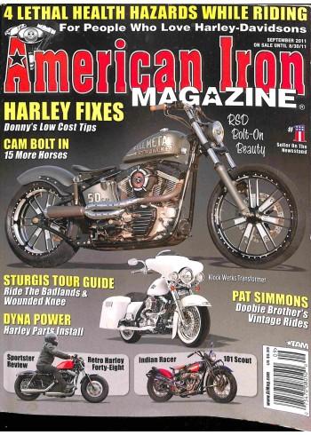 American Iron, September 2011
